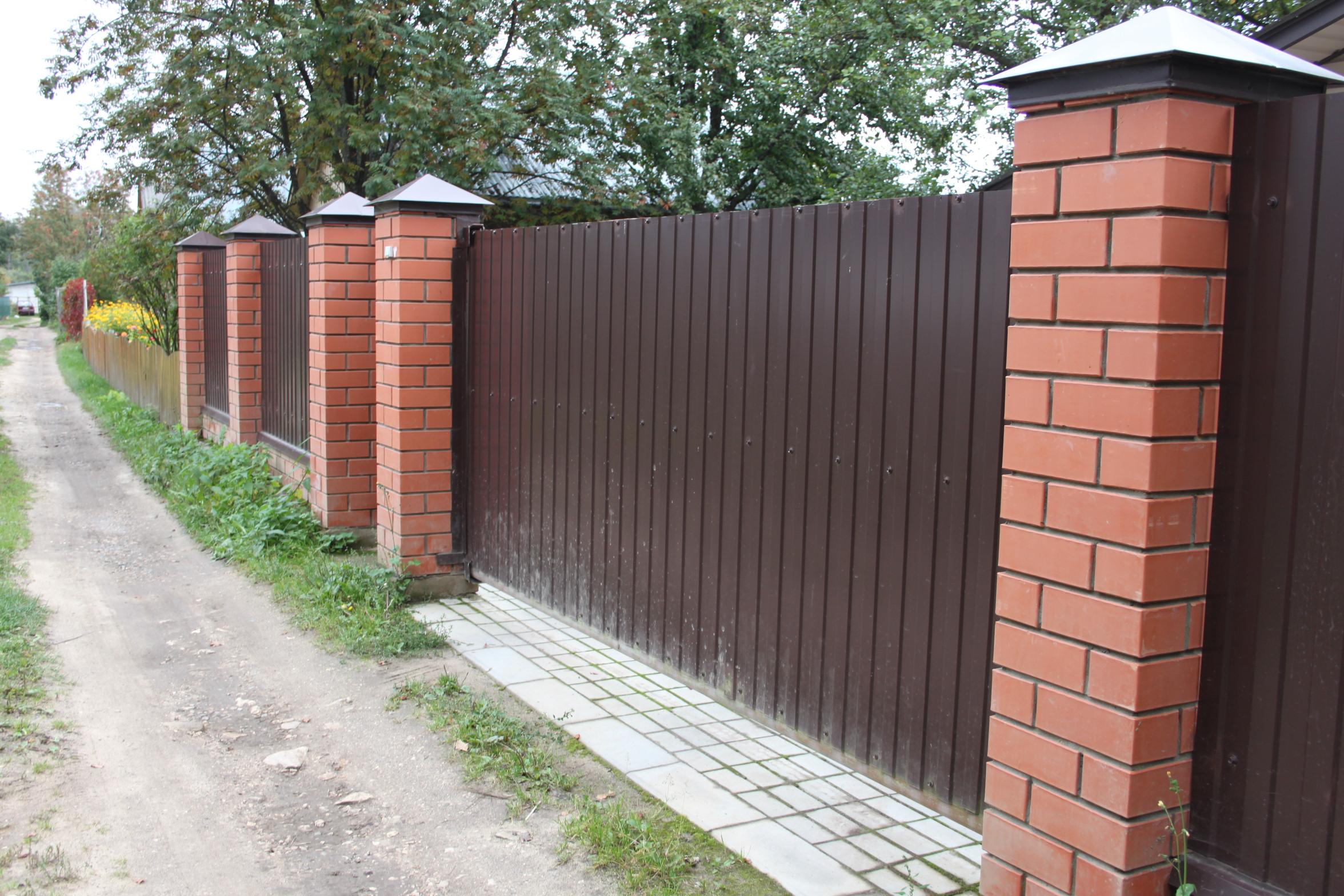 Установка заборов во Владимире