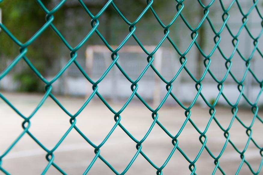 Забор из сетки рабицы С покрытием из поливинилхлорида